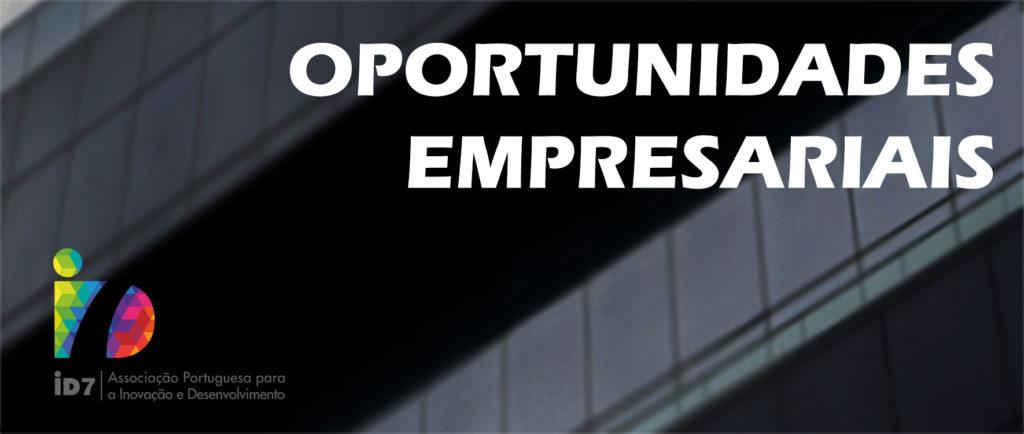 Oportunidades empresariais Maio 2020